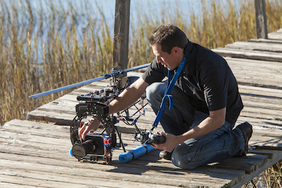 best commercial photographer in dallas, texas for taking overhead images and video