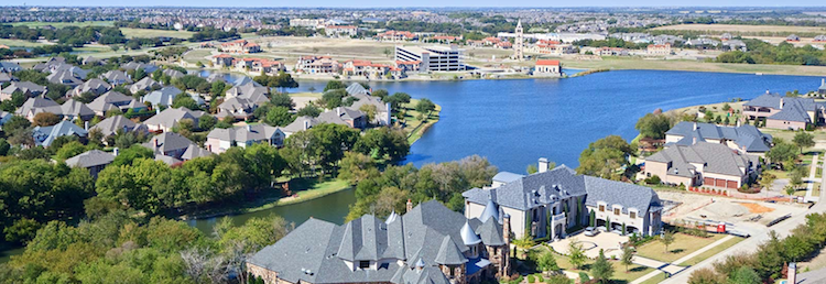 Dallas Ft. Worth realtors are using drone photo images to better market their properties