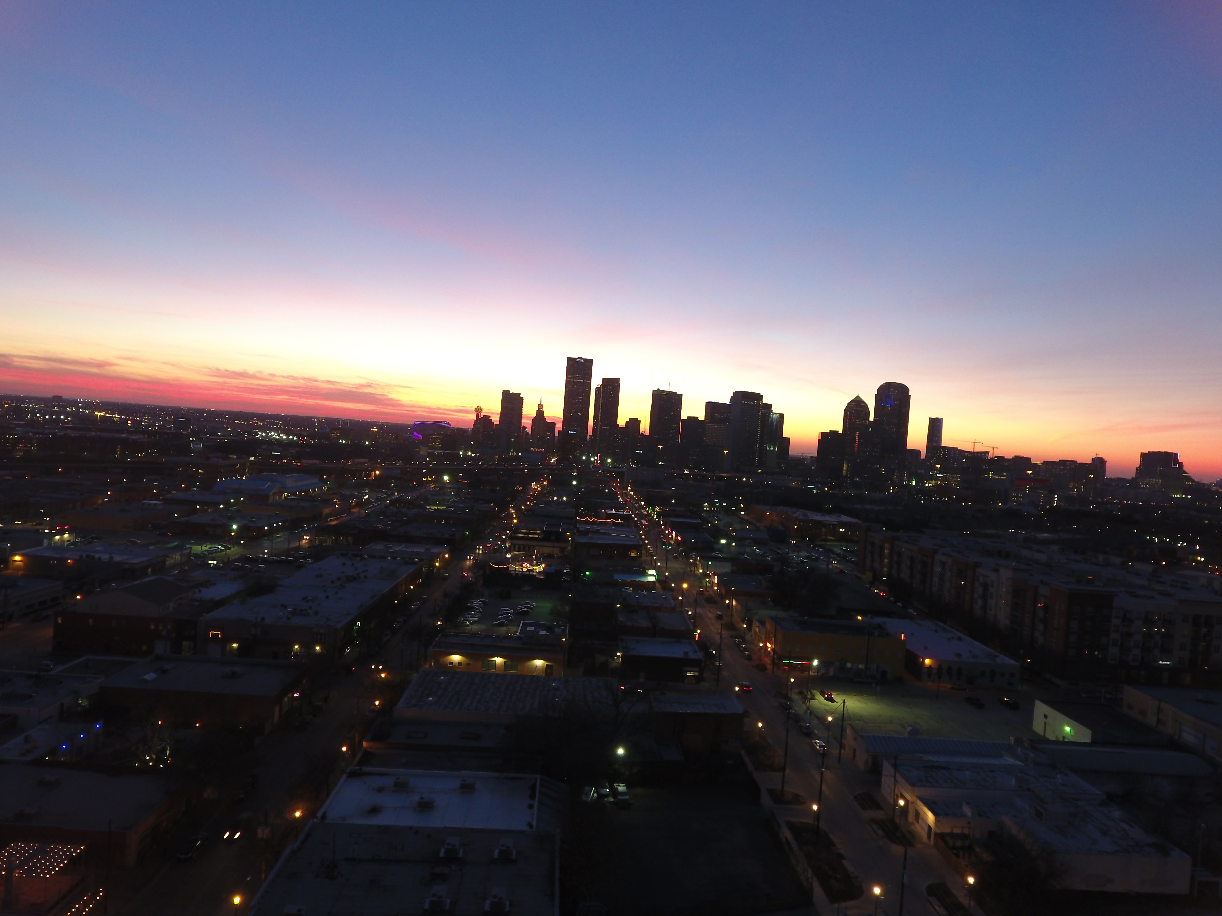 luxury apartment complex.  Leasing An Apartment Here Is A Sample Of What We Were Able To Do For The Case Building Street Lights Residential Out Deep Elum In Dallas TX Luxury Apartment Complex Aerial Drone Marketing Tarillo Vue