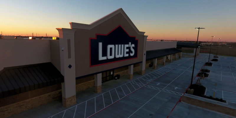 Lowes Commercial Aerial Photography