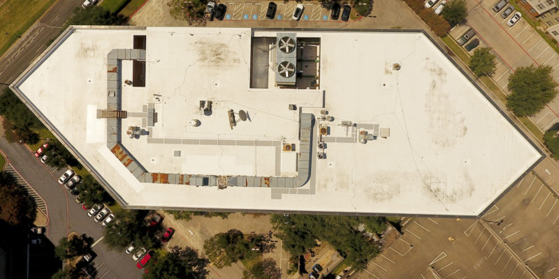Roofing Aerial Marketing Photography- Dallas