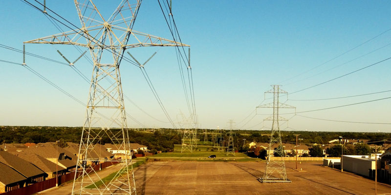 Power line Inspections- Texas