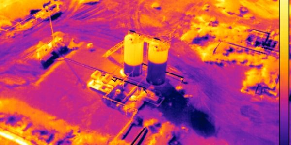 Infrared holding tank inspections