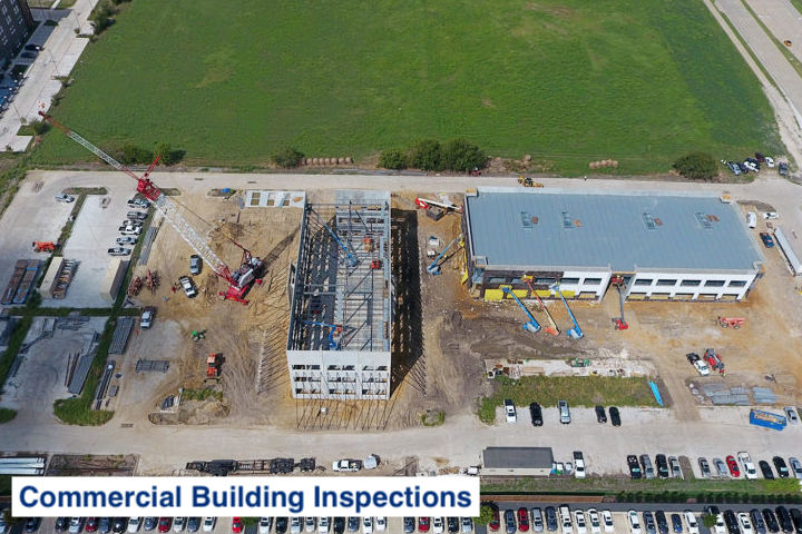 use drones for commercial building inspections in DFW texas
