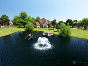 marketing with drone images in dallas
